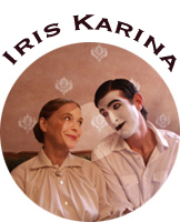 Iris Karina is an actress, singer, painter and designer and lives currently in Los Angeles.